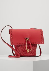 ZAC Zac Posen - BELAY CROSSBODY PERFORATION - Umhängetasche - chili pepper - 0