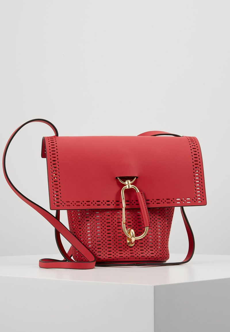 ZAC Zac Posen - BELAY CROSSBODY PERFORATION - Umhängetasche - chili pepper