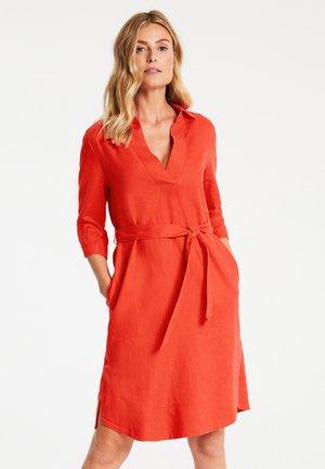 Day dress - tangerine