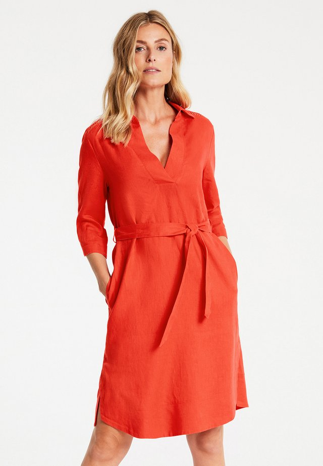 Day dress - tangerine