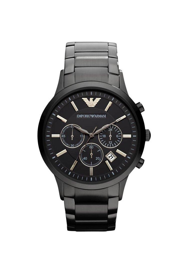 Emporio Armani - Chronograph watch - schwarz