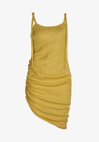 blonde gone rogue - GATHERED - Cocktail dress / Party dress - yellow - 6