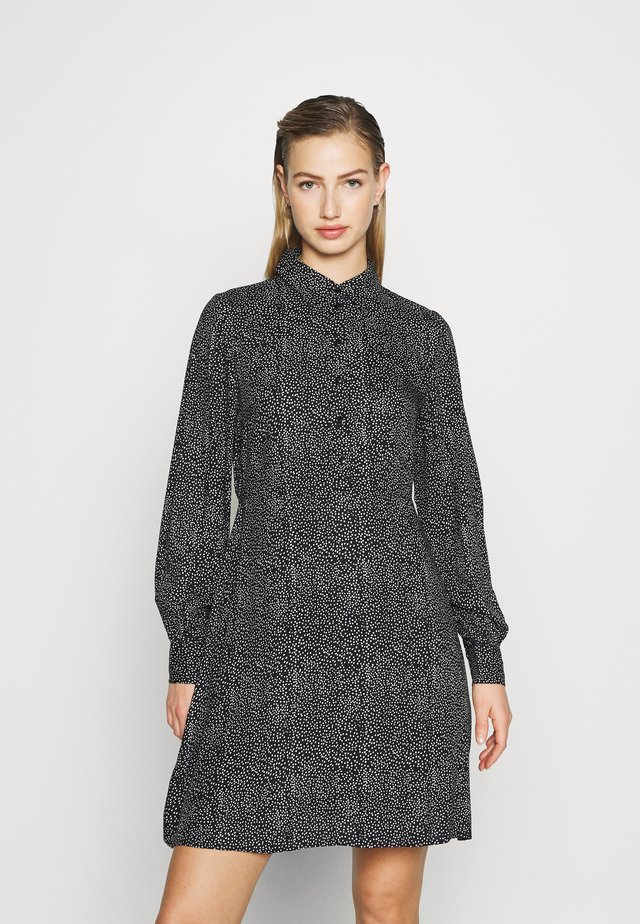 PCFRIDINEN DRESS - Shirt dress - black