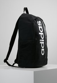 adidas Performance - ESSENTIALS LINEAR SPORT BACKPACK - Batoh - black/black/white - 3