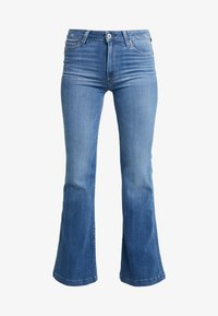 Paige - GENEVIVE  - Flared Jeans - north star destessed - 3