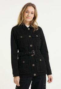 DreiMaster - Short coat - schwarz - 0