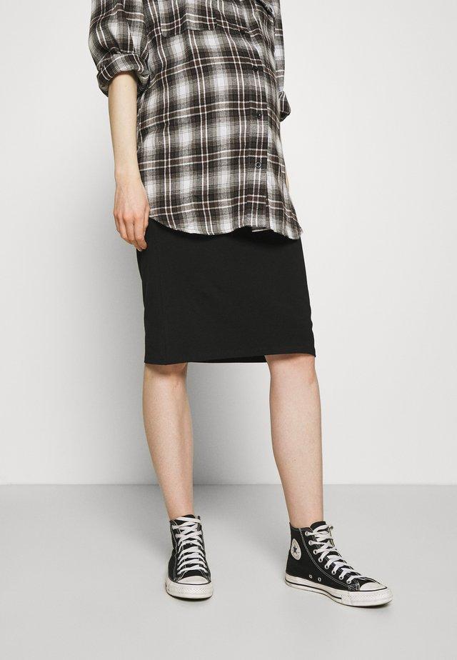 OLMLOVELY KNEE SKIRT - Pouzdrová sukně - black