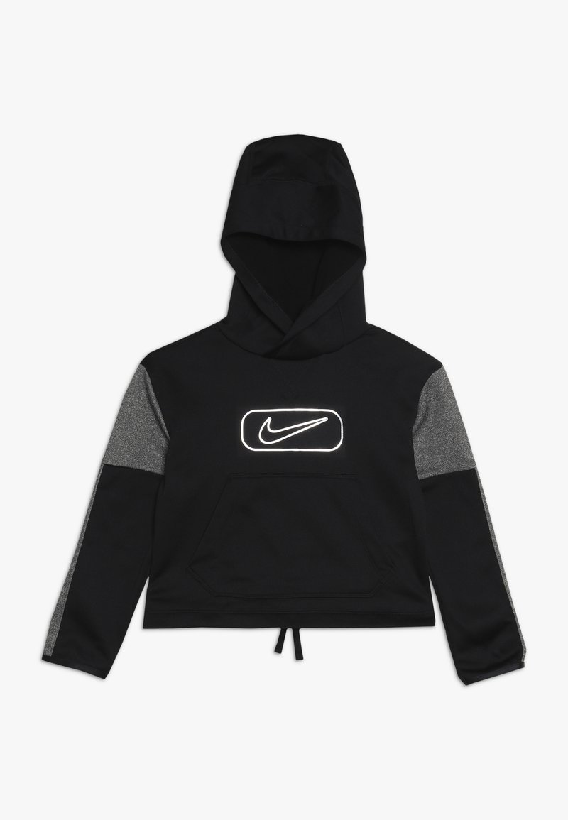 Nike Performance - THERMA SHINE - Hoodie - black