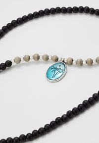 Classics77 - WASH OUT BEADED NECKLACE - Collana - black - 2