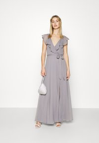 Nly by Nelly - DASHING FLOUNCE GOWN - Occasion wear - light grey - 1