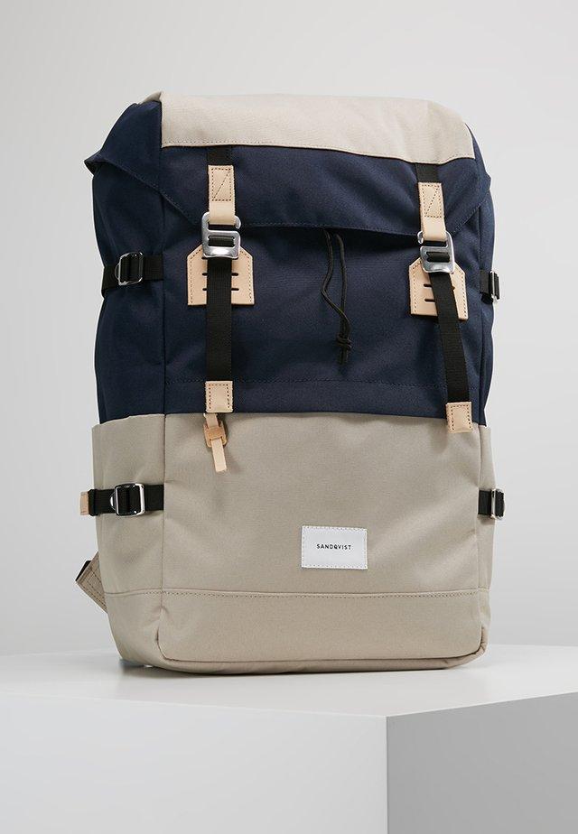 HARALD - Sac à dos - multi beige/blue