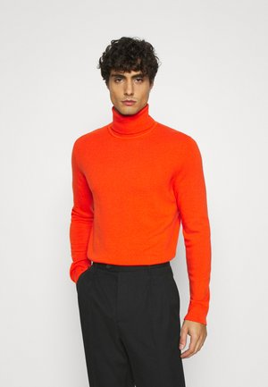 BASIC ROLL NECK - Jumper - orange