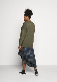 Kaffe Curve - MACHI  - Jumper - grape leaf - 2