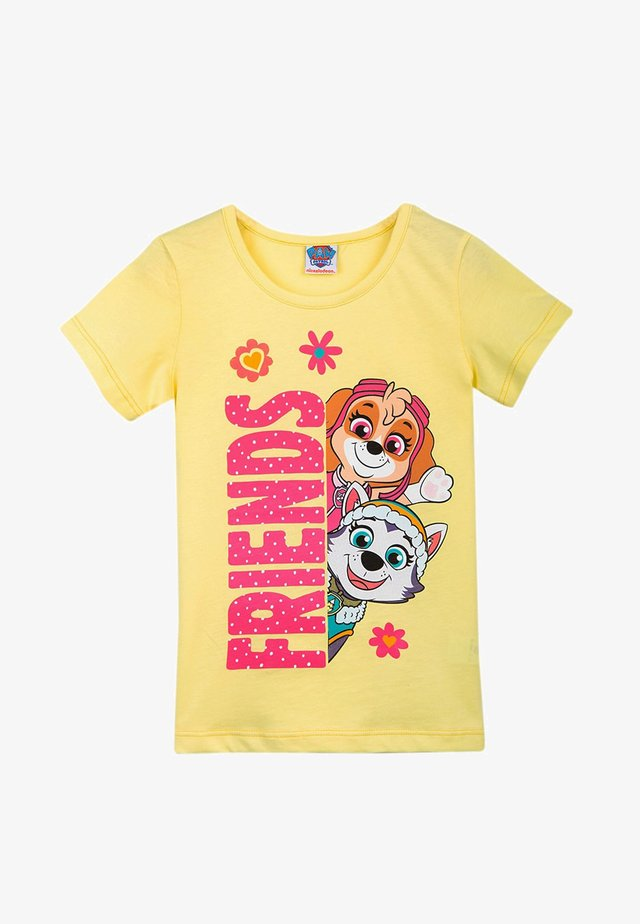 PAW PATROL - T-shirt con stampa - yellow iris
