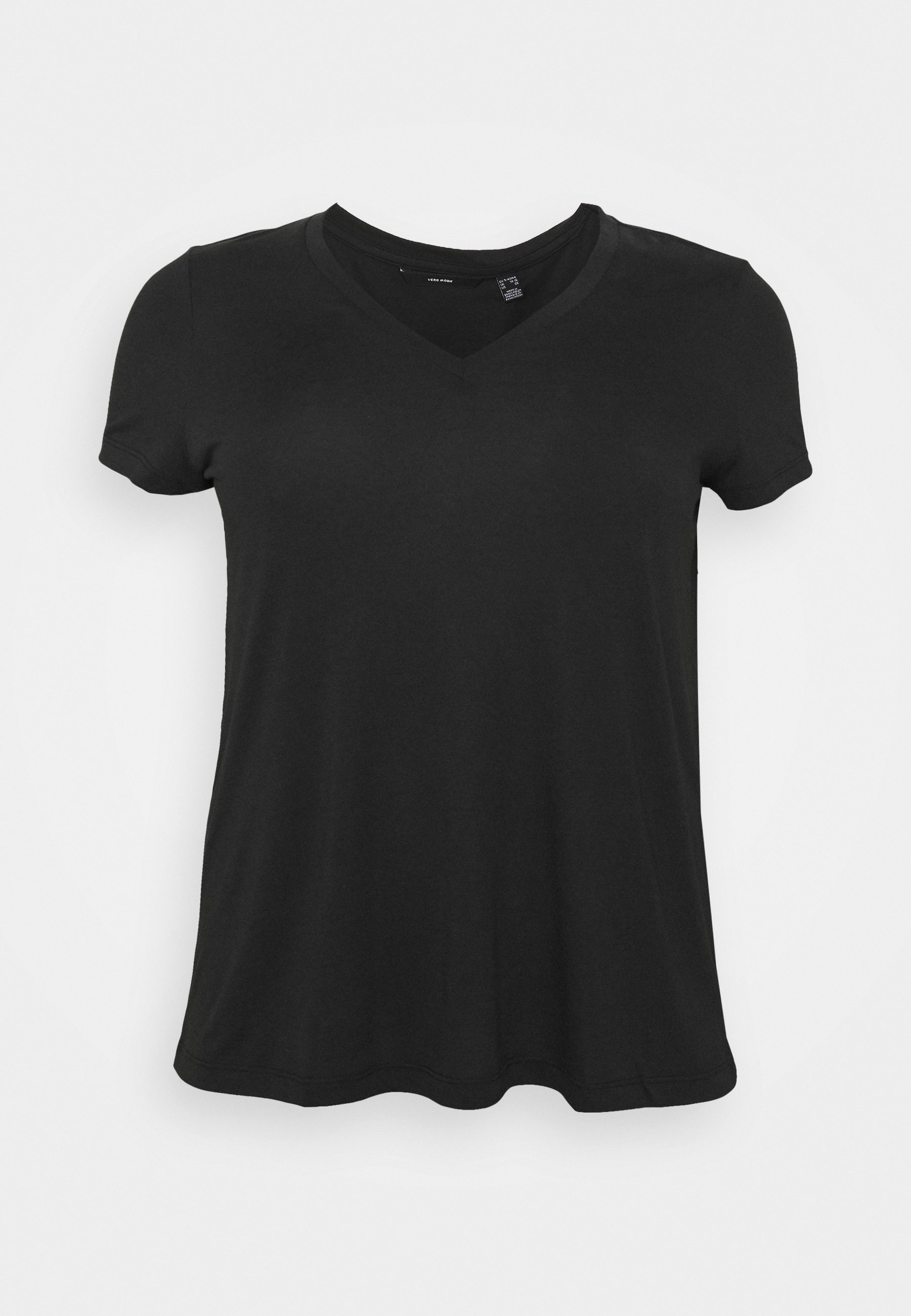 Femme VMSPICY VNECK  - T-shirt basique