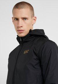 EA7 Emporio Armani - JACKET - Summer jacket - black - 4
