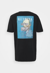 RETHINK Status - UNISEX OVERSIZED  - Print T-shirt - black - 1