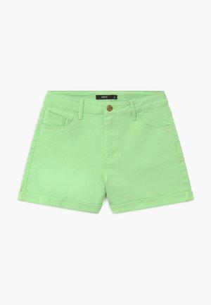 NLFATONES MOM  - Denim shorts - paradise green