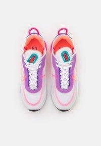 Nike Sportswear - AIR MAX 2090 - Sneakers - white/hyper orange/photon dust/hyper pink/hyper grape/turbo green - 4