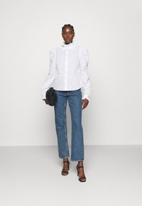 Custommade - BLANCA - Blouse - bright white - 1