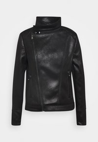 Desigual - CHAQ SVEN - Faux leather jacket - black - 4