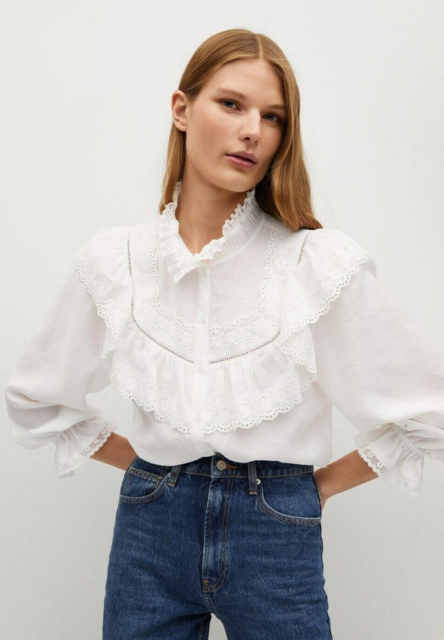 VICTORIA - Blouse - off-white