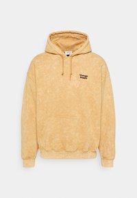 Vintage Supply - CORE OVERDYE HOODIE - Sweatshirt - yellow - 0