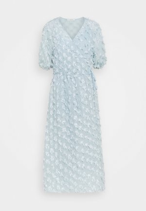 VINRA WRAP DRESS - Day dress - cashmere blue