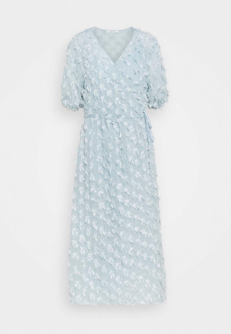 Love Copenhagen - VINRA WRAP DRESS - Cocktail dress / Party dress - cashmere blue
