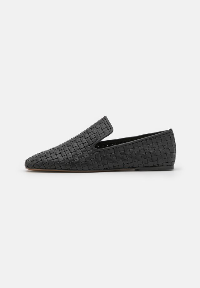 SLIPPERS - Mocassins - black