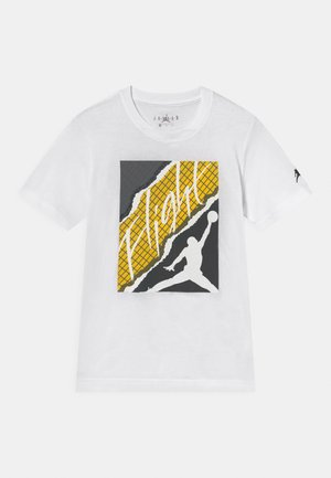 FLIGHT LIGHTNING - T-shirt print - white