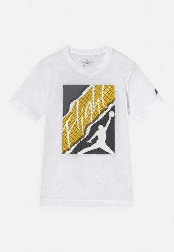 FLIGHT LIGHTNING - T-shirt con stampa - white