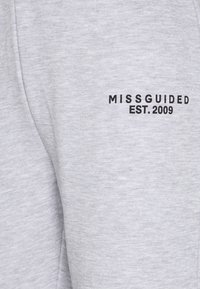 Missguided - CROP AND JOGGER SET - Tracksuit - grey