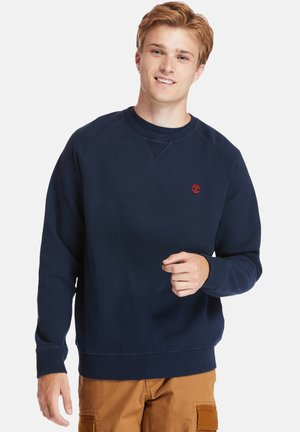 EXETER RIVER BRUSHED BACK - Sweater - dark sapphire