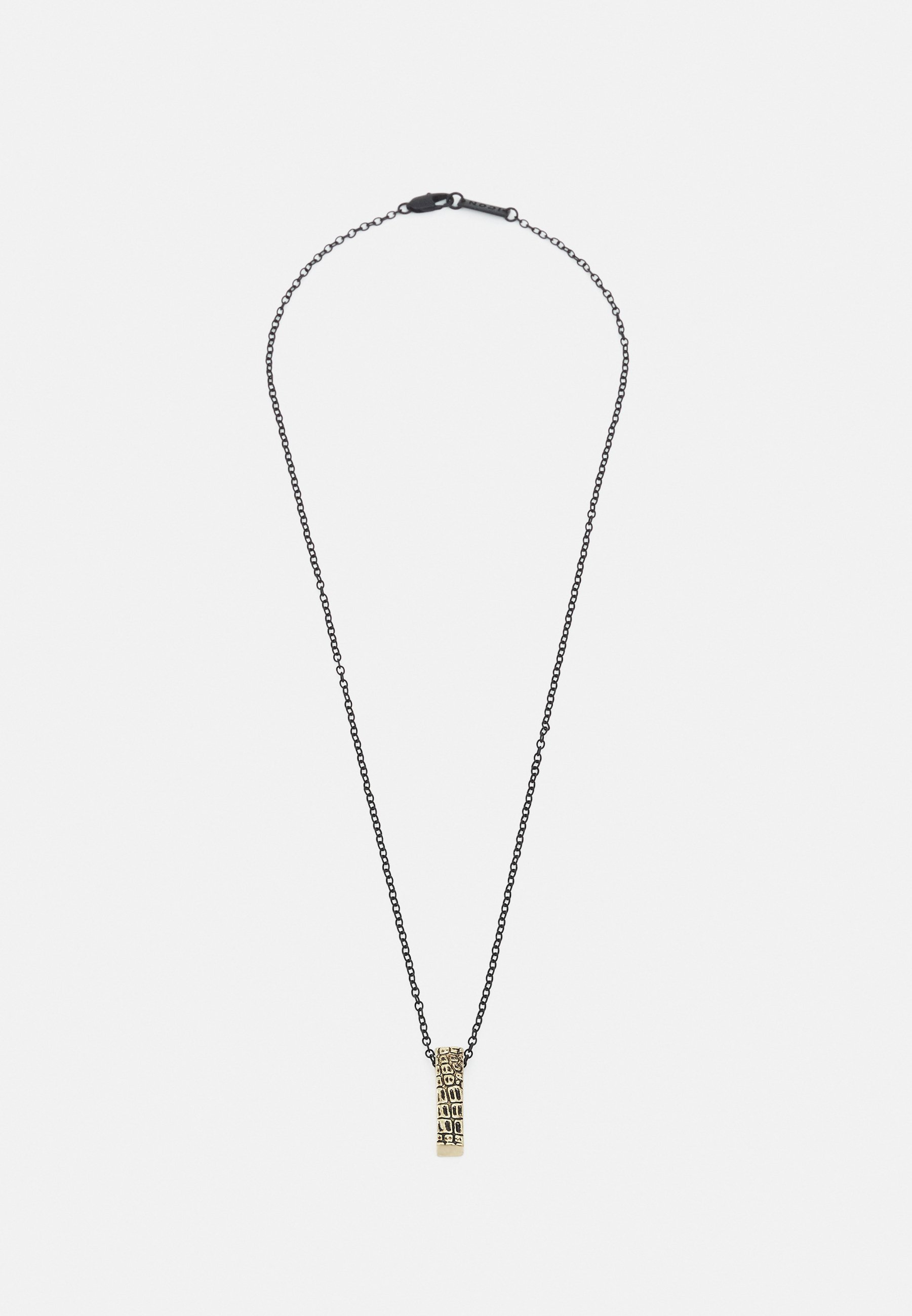Men CRACKED BAR NECKLACE - Necklace