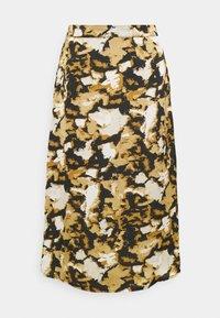 VIMEKKI MEKO SKIRT - A-line skirt - mineral yellow