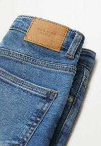 Mango - Jeans Skinny Fit - middenblauw - 2