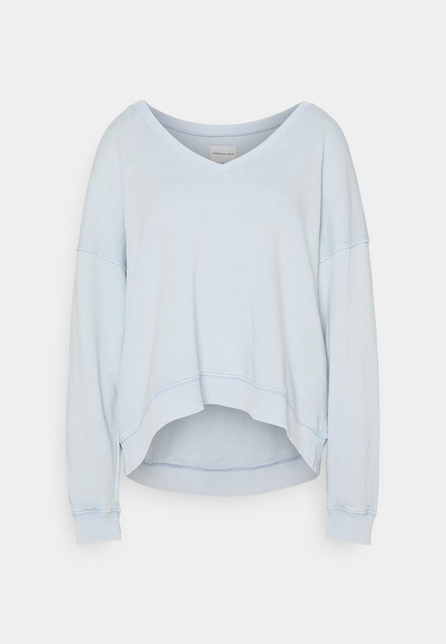 NECK CROP - Maglione - blue