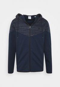 Jack & Jones - JJBANG ZIP HOOD - Zip-up hoodie - navy blazer - 0