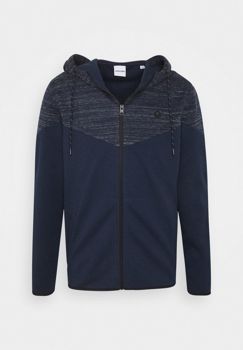 Jack & Jones - JJBANG ZIP HOOD - Zip-up hoodie - navy blazer