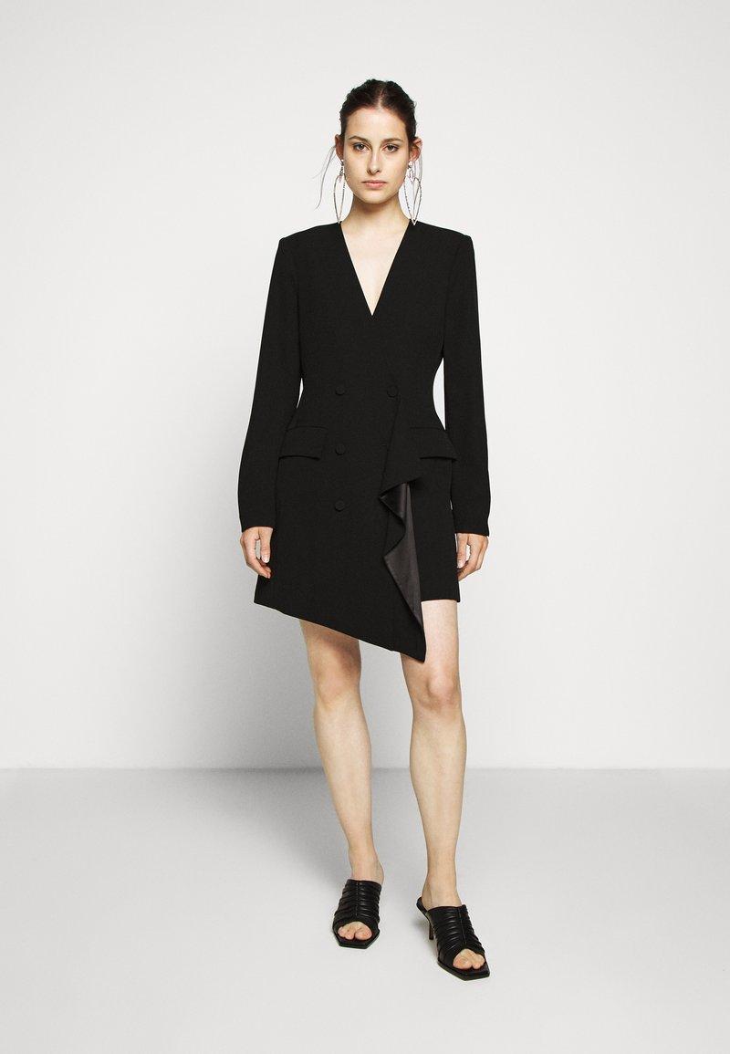 BCBGMAXAZRIA - EVE SHORT DRESS - Etuikjole - black