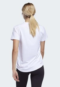 adidas Performance - BADGE OF SPORT T-SHIRT - Print T-shirt - white - 1