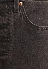 Levi's® - RIBCAGE SKIRT - Spódnica mini - washed noir black - 7