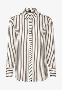 s.Oliver BLACK LABEL - Button-down blouse - cream - 4