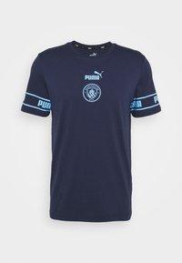MANCHESTER CITY - Club wear - peacoat team light blue