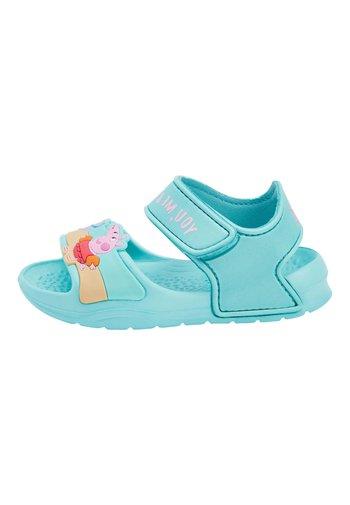 "AQUA PEPPA PIGÂ""¢ POOL SLIDERS (YOUNGER) - Sandály do bazénu - blue"