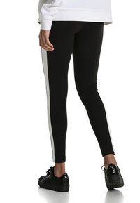 Puma - CLASSICS LOGO T7 LEGGING - Leggings - Trousers - cotton black - 2