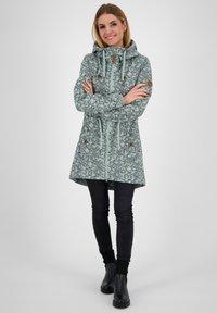 alife & kickin - CHARLOTTEAK - Short coat - slategray - 1