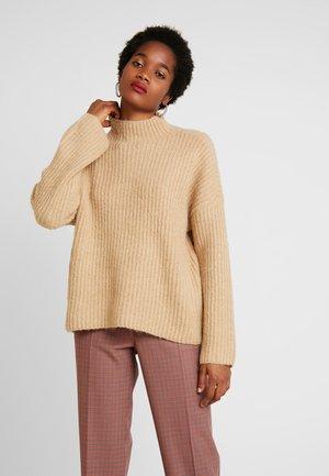 Sweter - sesame
