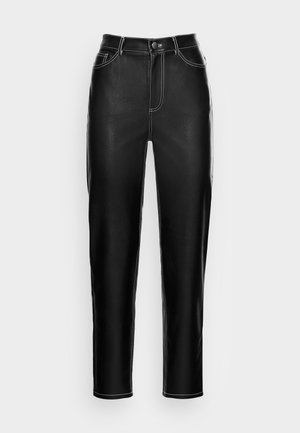 RIA TROUSERS - Trousers - black